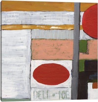Deli Ice (Abstract) Canvas Art Print