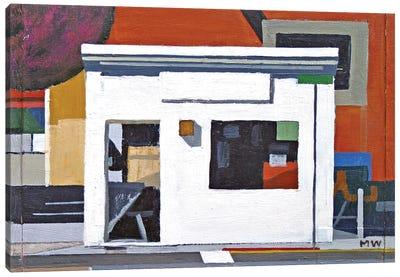 La Casa Blanca (Abstract) Canvas Art Print