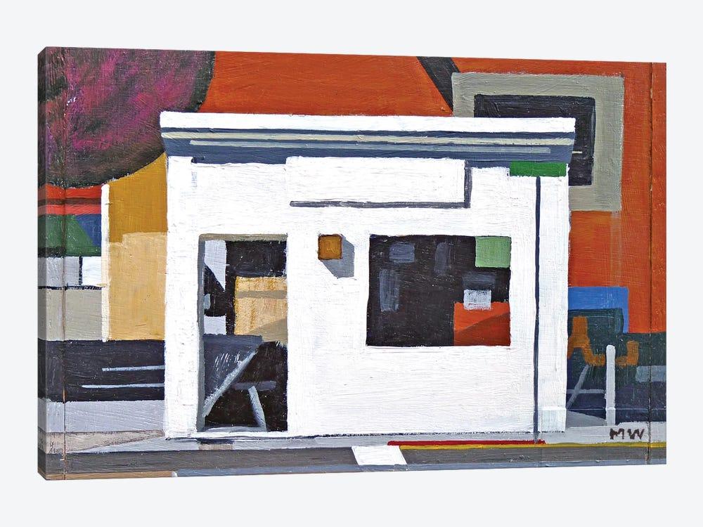 La Casa Blanca (Abstract) by Michael Ward 1-piece Art Print