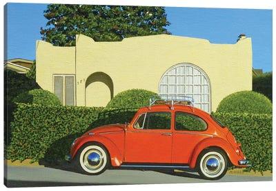 Locust St. House Canvas Art Print