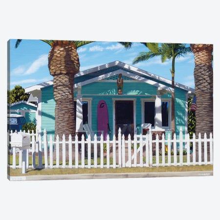 Mermaid House Canvas Print #MWD30} by Michael Ward Art Print