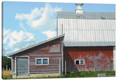 Michigan Barn IV Canvas Art Print