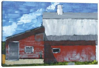 Michigan Barn IV (Abstract) Canvas Art Print
