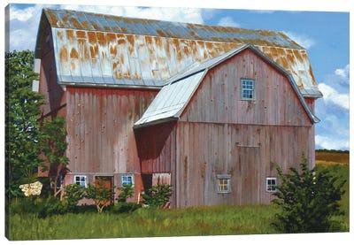 Michigan Barn VI Canvas Art Print