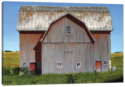 Michigan Barn II Canvas Art Print