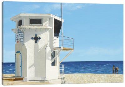 Moderate Surf Canvas Art Print