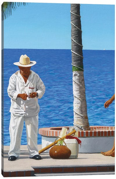 Next Customer Canvas Art Print