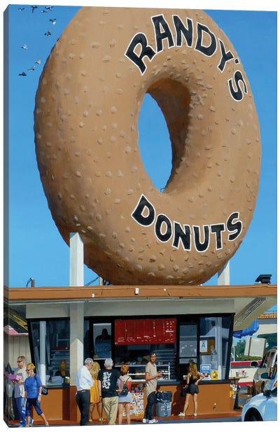 Randy's Donuts Canvas Art Print