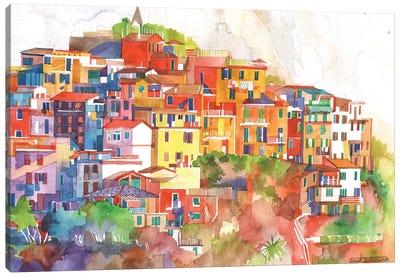 Cinque Terre II Canvas Art Print