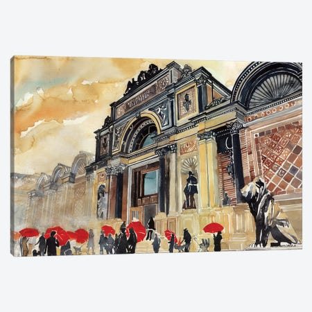 Glyptotek Canvas Print #MWR15} by Maja Wronska Canvas Artwork
