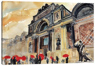 Glyptotek Canvas Art Print