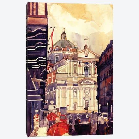 Il Gesu Canvas Print #MWR16} by Maja Wronska Canvas Artwork