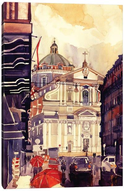 Il Gesu Canvas Art Print