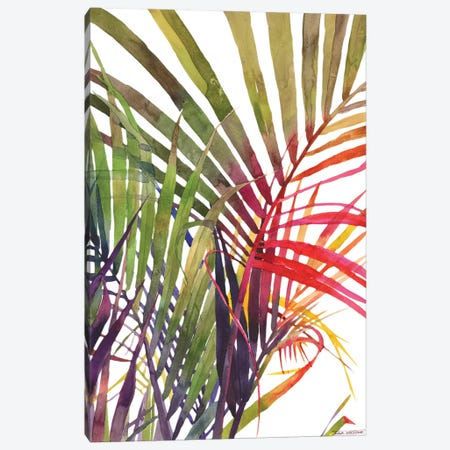 Jungle Vol 3 Canvas Print #MWR18} by Maja Wronska Art Print