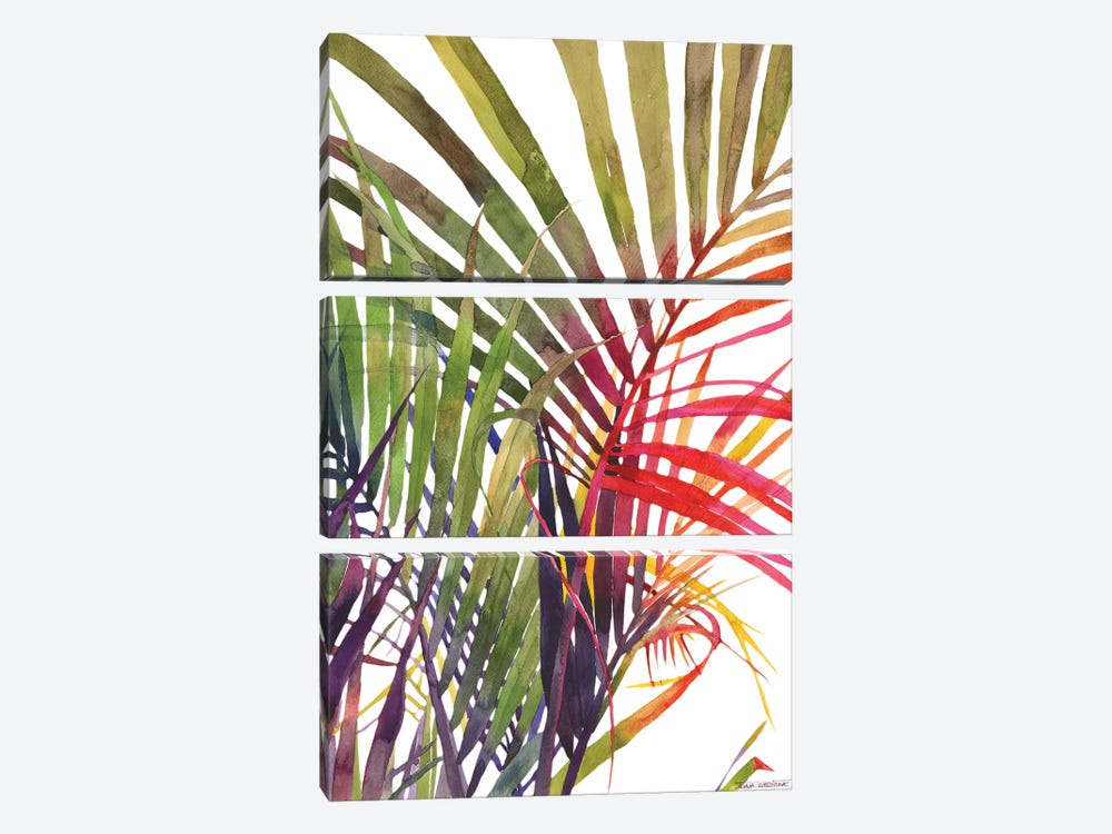 Jungle Vol 3 by Maja Wronska 3-piece Canvas Artwork