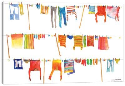Laundry Canvas Art Print