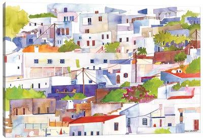 Lindos Canvas Art Print