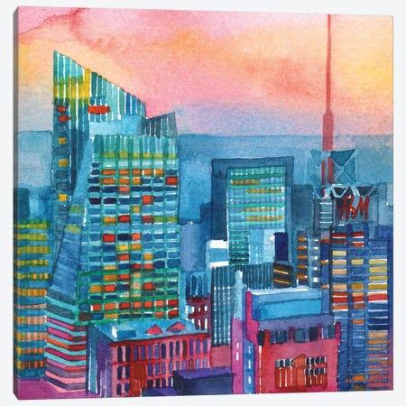 NYC I Canvas Print #MWR25} by Maja Wronska Canvas Print