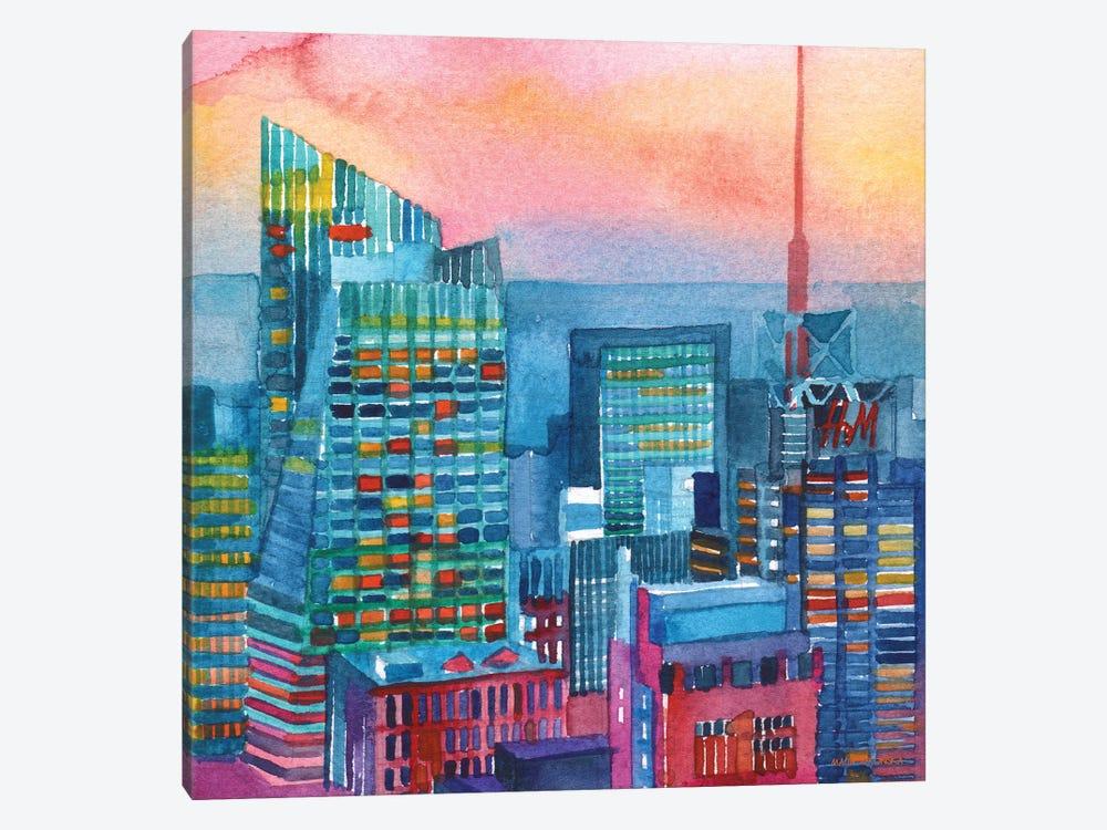 NYC I by Maja Wronska 1-piece Canvas Art