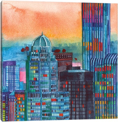 NYC II Canvas Art Print