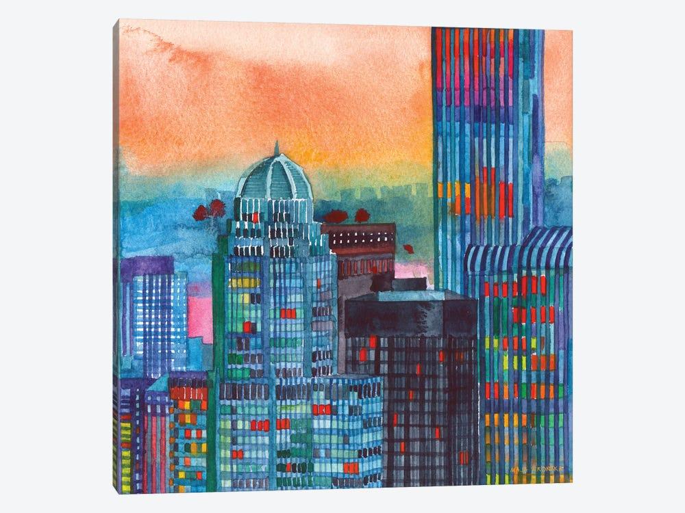 NYC II by Maja Wronska 1-piece Canvas Art Print