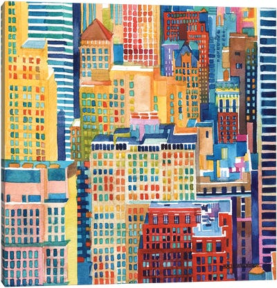 NYC III Canvas Art Print