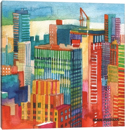 NYC IV Canvas Art Print
