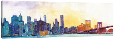 NYC Panorama Canvas Art Print