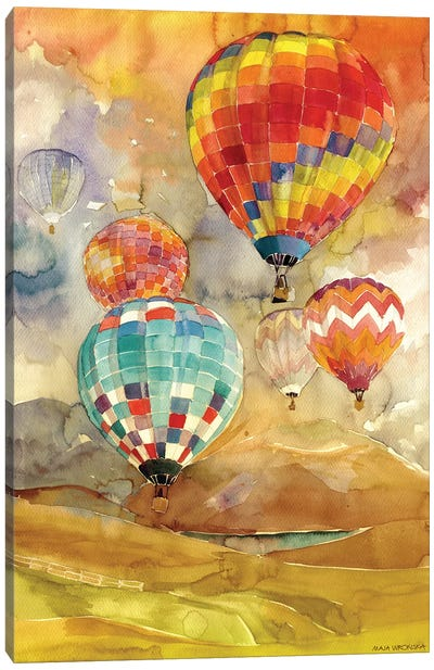 Balloons Canvas Art Print
