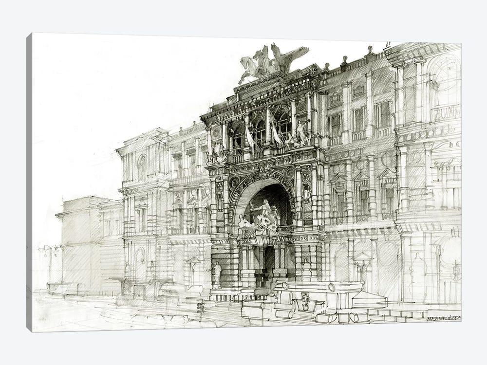 Old Roma by Maja Wronska 1-piece Canvas Artwork