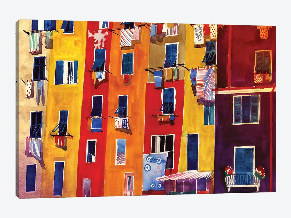 Portovenere by Maja Wronska 1-piece Canvas Artwork