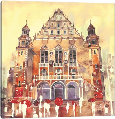 Poznań Canvas Art Print