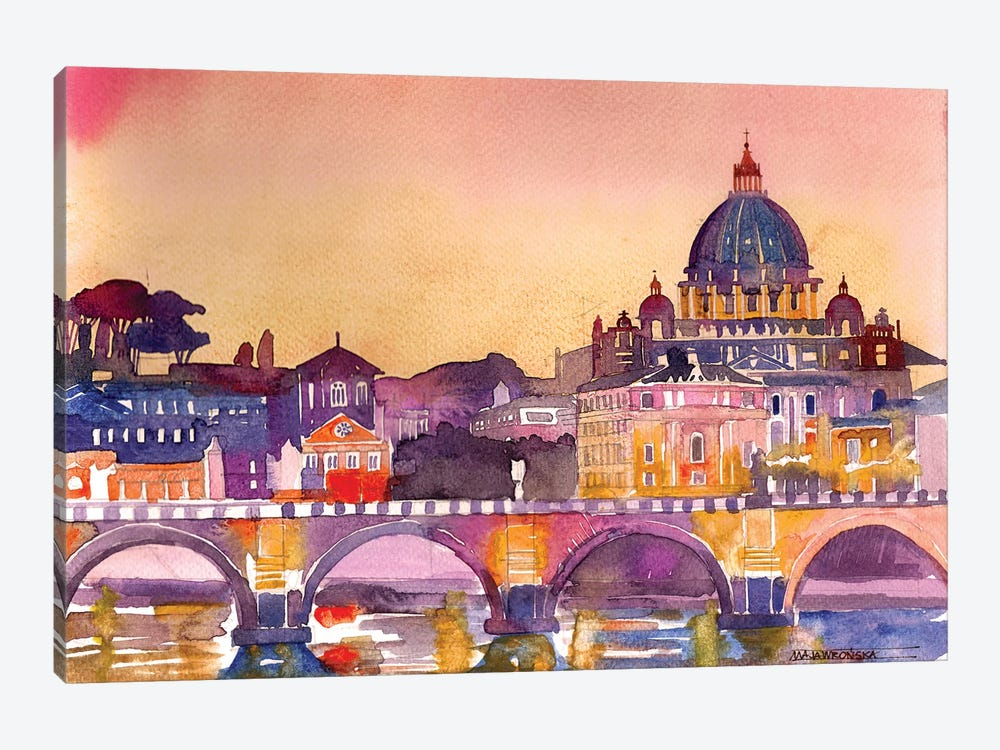 Rome by Maja Wronska 1-piece Art Print