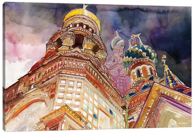 Saint Petersburg Canvas Art Print