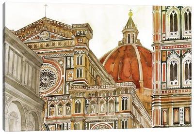 Santa Maria Del Fiore Canvas Art Print