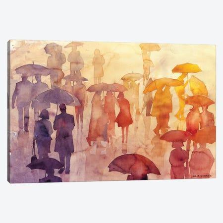 Summer Day Canvas Print #MWR38} by Maja Wronska Art Print