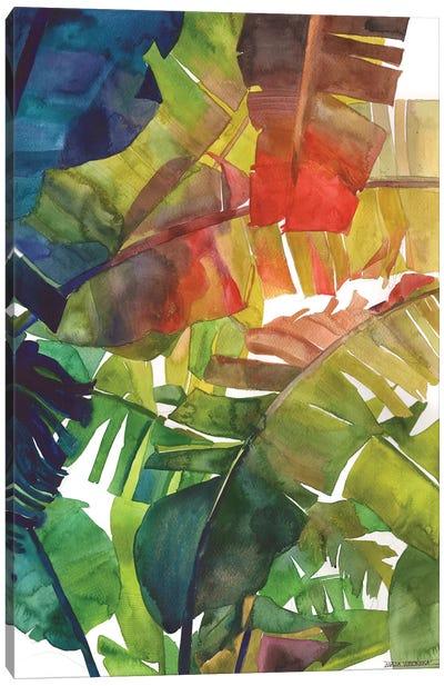 Banana Leaves Canvas Art Print