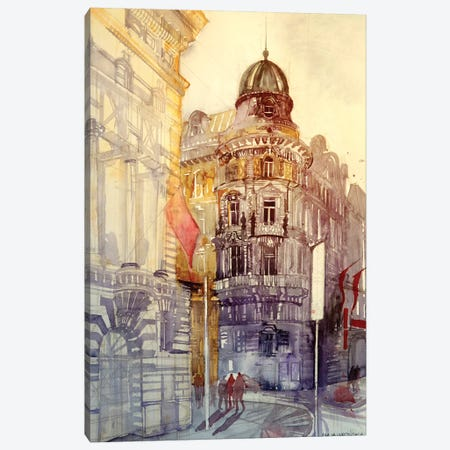 Wien Canvas Print #MWR46} by Maja Wronska Art Print