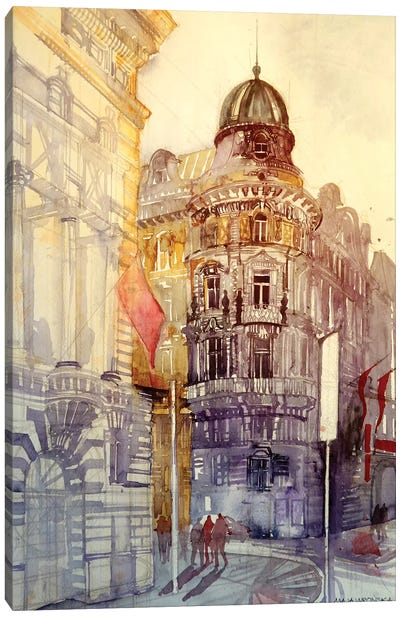 Wien Canvas Art Print
