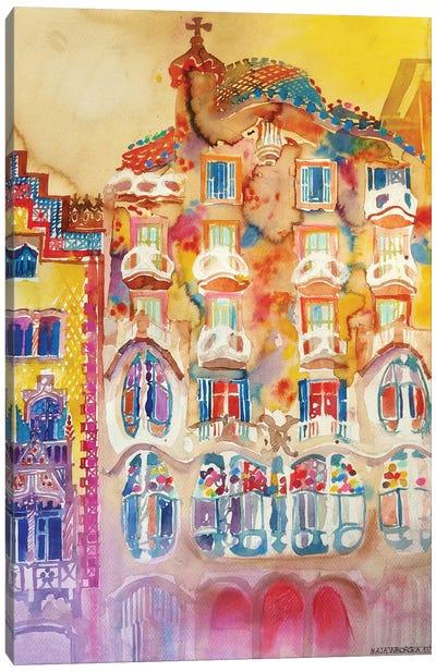 Casa Batlló Canvas Art Print