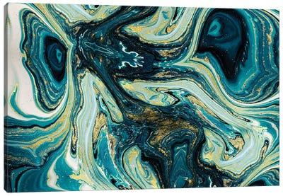 Spacetime Canvas Art Print