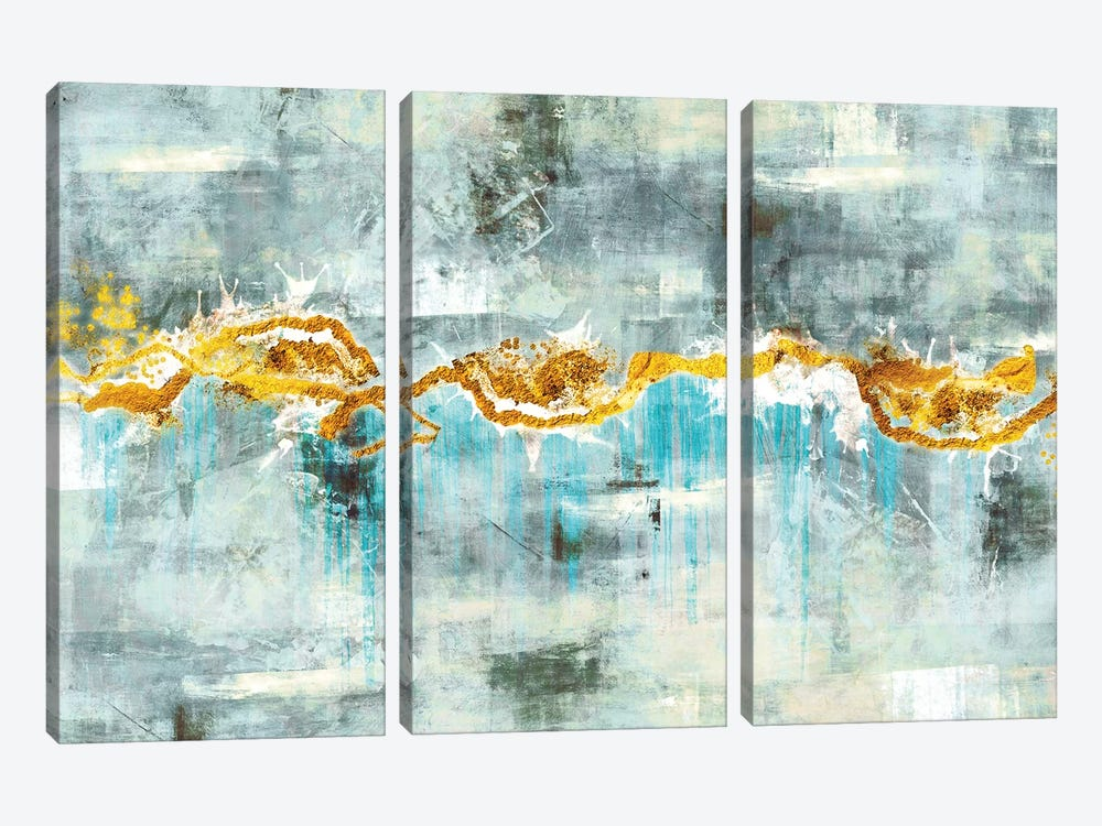 Tears by Maximiliano Casal 3-piece Canvas Art