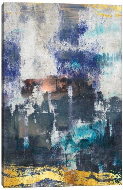 Abstract Mediterranean Canvas Art Print