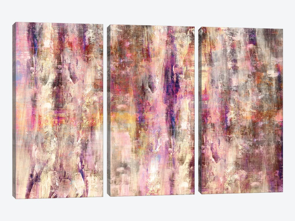 Colorful Abstract by Maximiliano Casal 3-piece Canvas Artwork