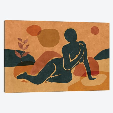 Woman Resting In The Nature II Canvas Print #MXC52} by Maximiliano Casal Canvas Wall Art
