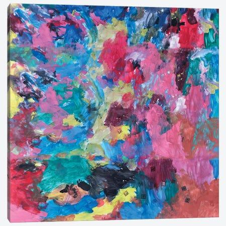 Abstract Cloe Canvas Print #MXC56} by Maximiliano Casal Art Print