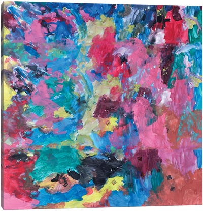 Abstract Cloe Canvas Art Print