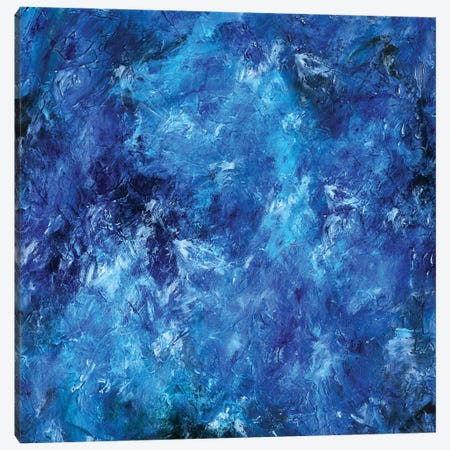 Deep Sea Blue Canvas Print #MXC57} by Maximiliano Casal Art Print