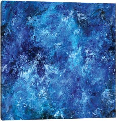 Deep Sea Blue Canvas Art Print