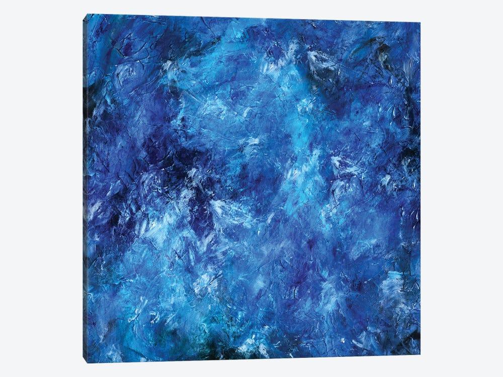 Deep Sea Blue by Maximiliano Casal 1-piece Canvas Wall Art